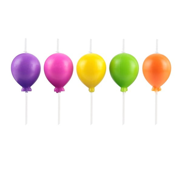 Zestaw 4 świeczek w kształcie balonów Le Studio Ballons