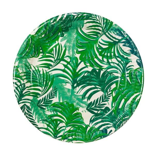 Zestaw 12 tacek papierowych Talking Tables Fiesta Tropico