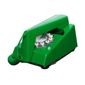 Telefon stacjonarny w stylu retro Trim Emerald Green