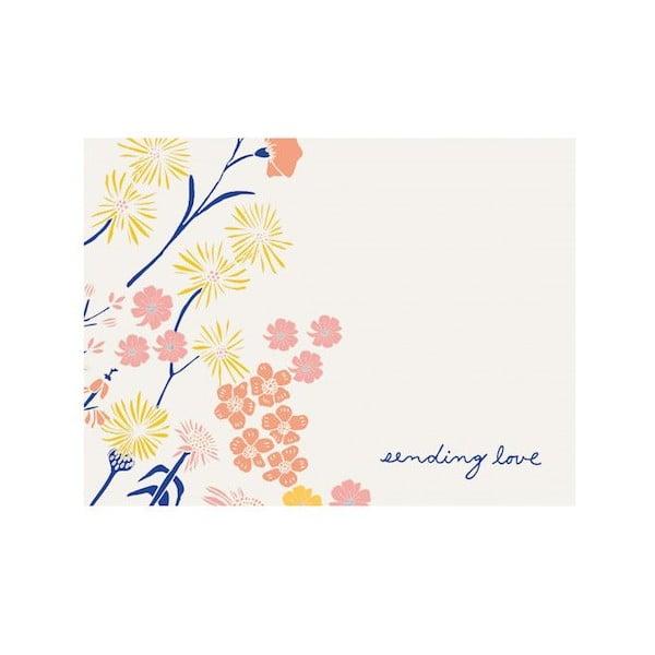 Zestaw karteczek z życzeniami Galison Mudpuppy Meadowfield Greeting Assortment