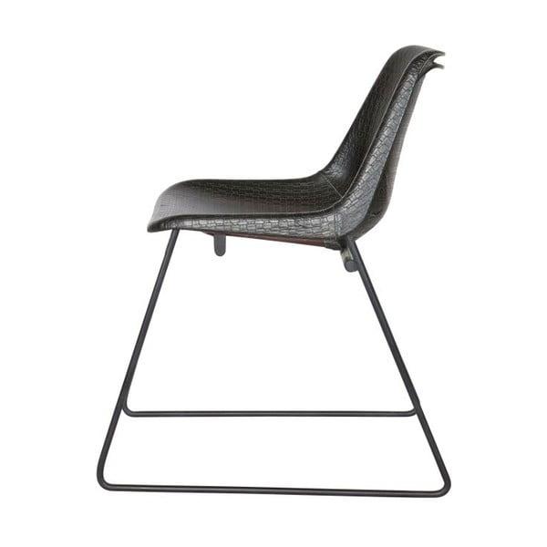 Zestaw 2 krzeseł Stainly Black