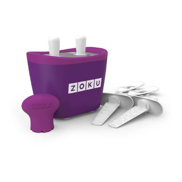 Fioletowa maszynka do lodów Zoku Duo