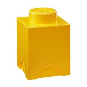 Żółty mały pojemnik LEGO®
