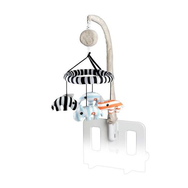 Karuzela 3D grająca Zoopreme, niebieska