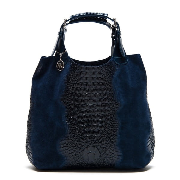 Skórzana torebka Italia 820 Blue