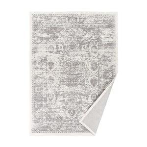 Biały dywan dwustronny Narma Palmse, 70x140 cm