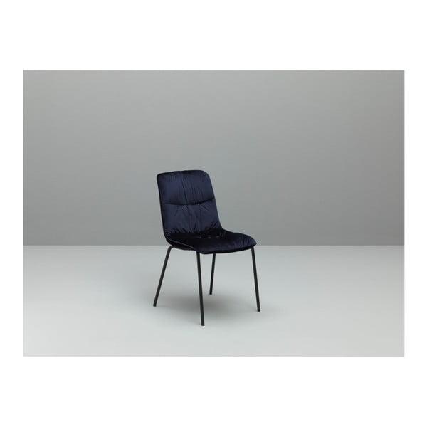 Zestaw 4 niebieskich krzeseł Design Twist Cerlak