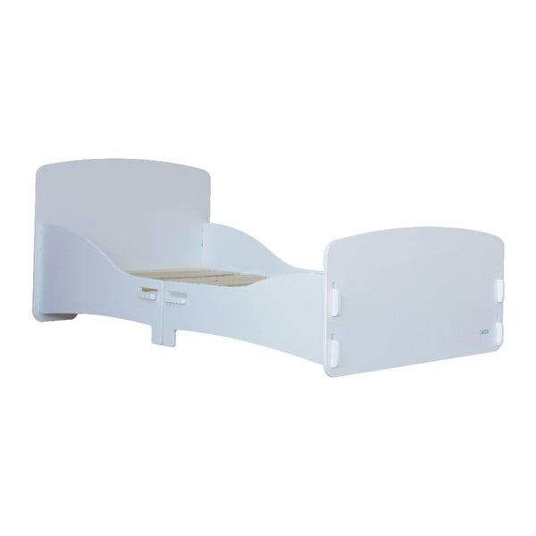 Dziecięce łóżko White Junior, 147x80x60 cm