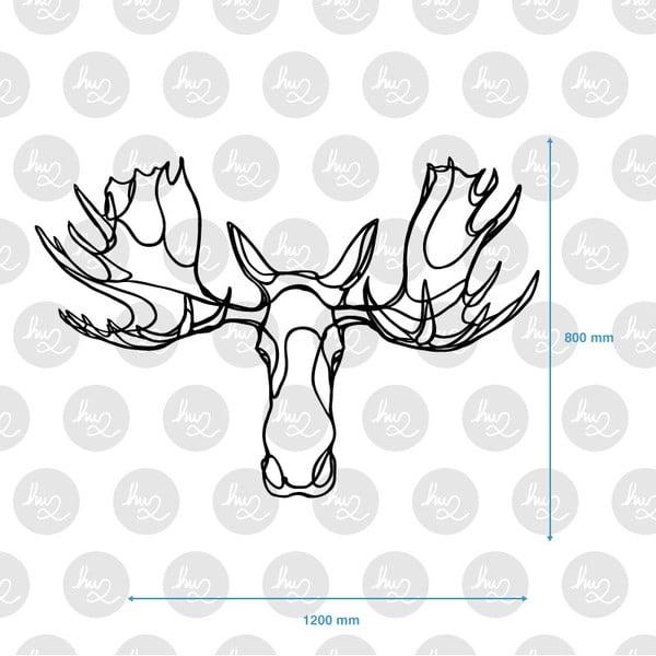 Dekoracja ścienna Moose Head