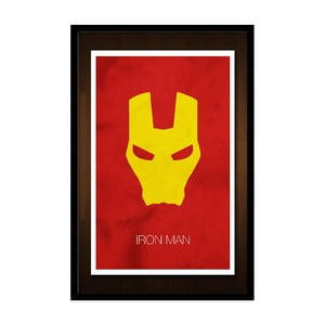 Plakat Iron Man Mask, 35x30 cm