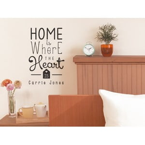 Naklejka dekoracyjna Heart Is