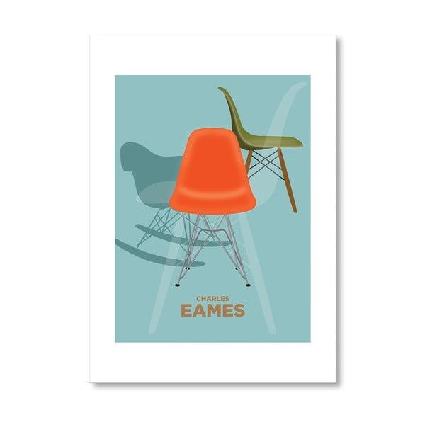 """Plakat autorski """"Charles Eames"""""""