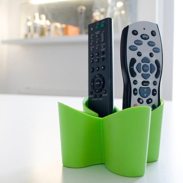 Zielony stojak na pilot do telewizora J-Me Cozy Remote Tidy
