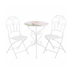 Stolik i 2 krzesła Pink Flower