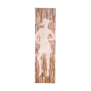 Dekoracja ścienna z drewna mango House Nordic Jali