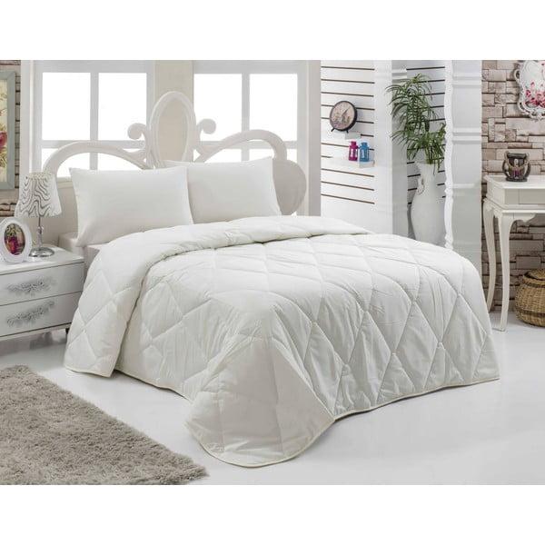Narzuta pikowana na łóżko dwuosobowe Dona, 195x215 cm