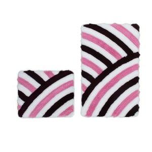 Zestaw 2 dywaników łazienkowych Lobby Purple
