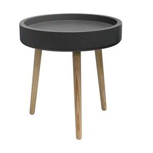 Stolik kawowy Pod, czarna