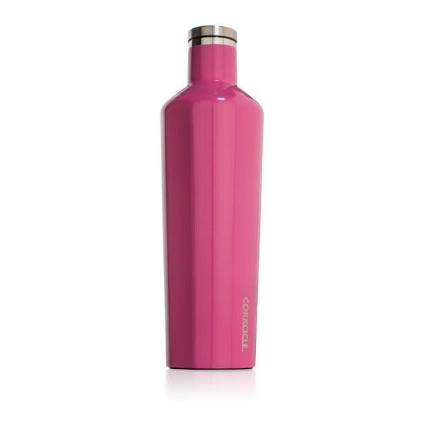 Różowa   butelka termiczna Root7 Canteen, 740 ml