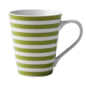 Porcelanowy kubek Lime Striped