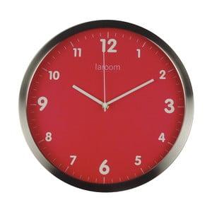 Zegar ścienny Minimal Red