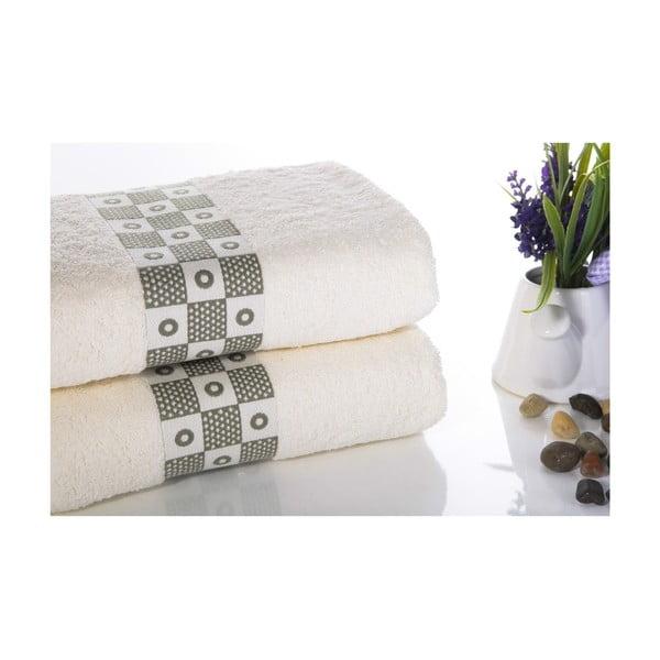 Zestaw 2 ręczników Anita V1, 50x90 cm