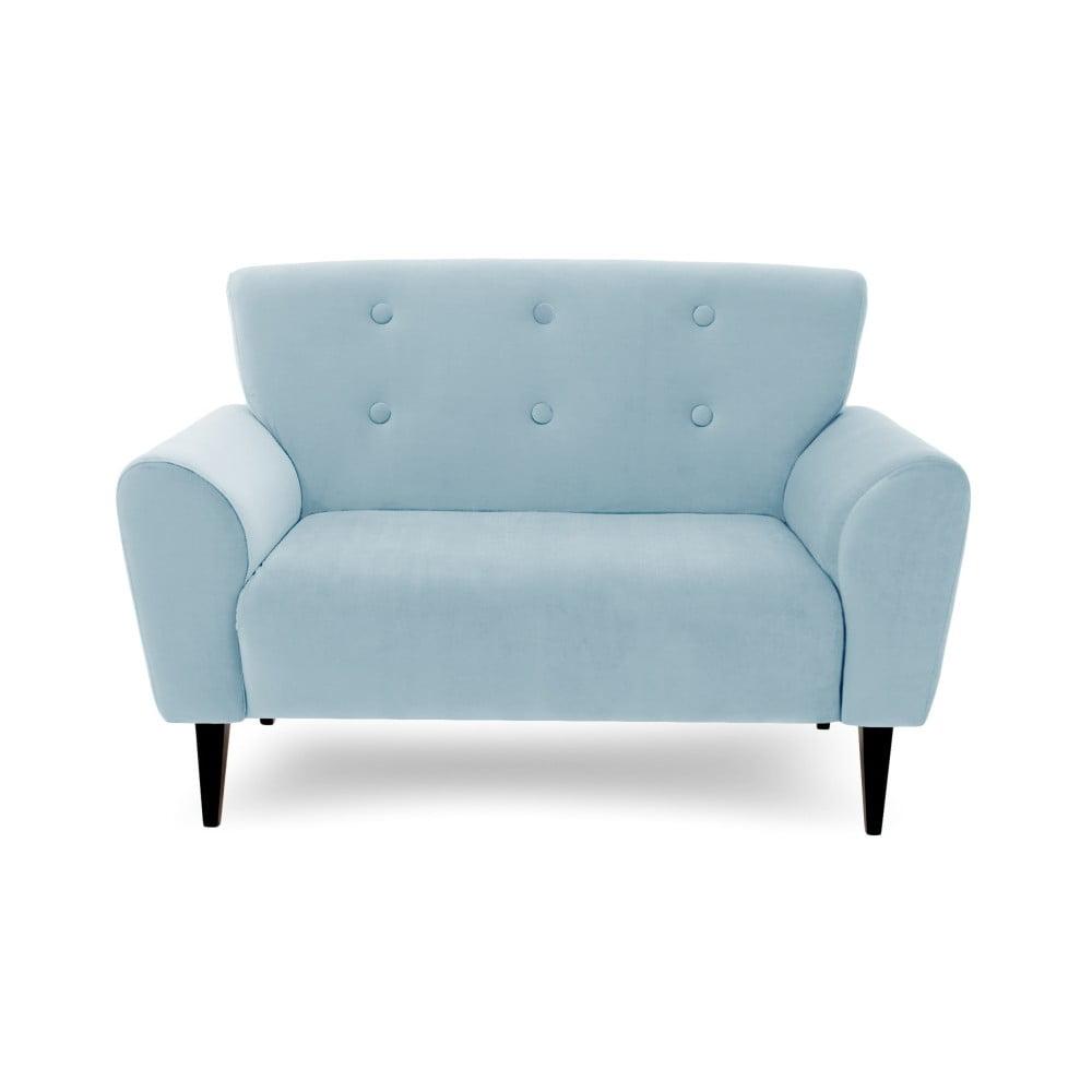 Jasnoniebieska 2-osobowa sofa Vivonita Kiara