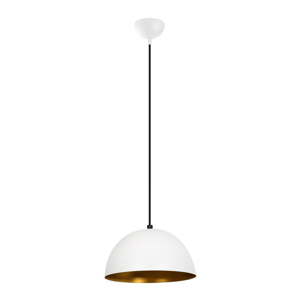 Biała lampa wisząca Opviq lights Silvani