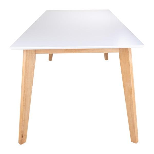 Stół z nogami w naturalnej barwie loomi.design Vojens, 210x90 cm