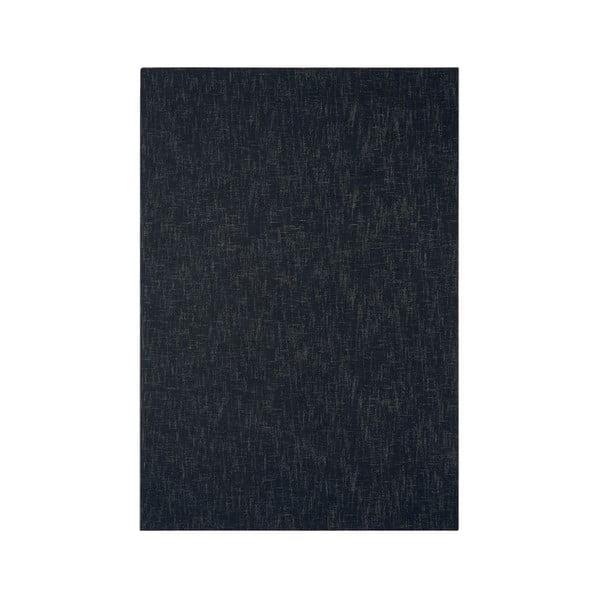 Wełniany dywan Tweed Charcoal, 120x180 cm