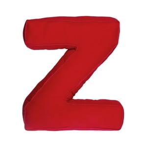 Poduszka w kształcie litery Z, czerwona
