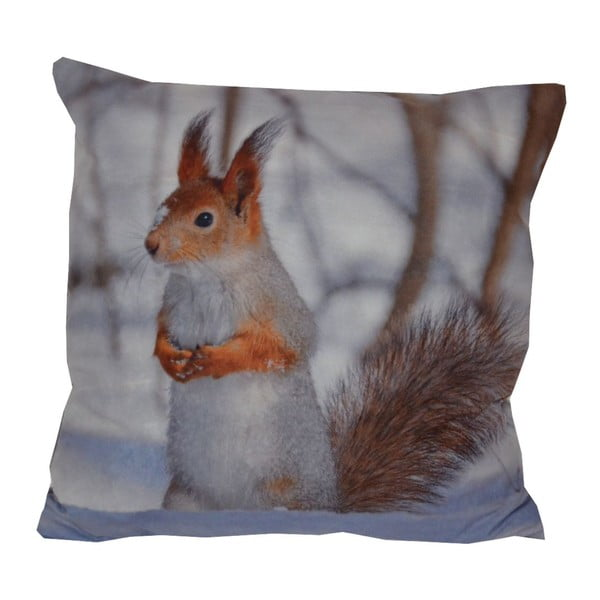 Poduszka Animals Small Squirrel, 42x42 cm