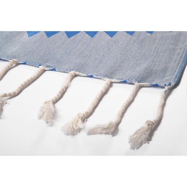 Niebieski ręcznik kąpielowy hammam Arcane