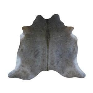 Szara skóra bydlęca, 196x194 cm