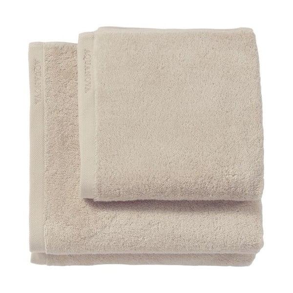Naturalny ręcznik Aquanova London, 55x100 cm