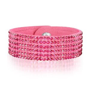Bransoletka Simply Pink, 17 cm