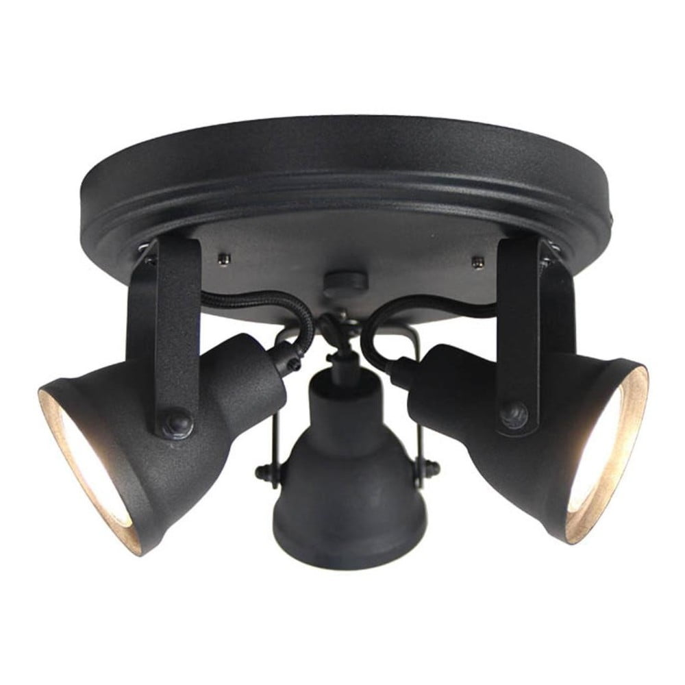 Czarna lampa sufitowa LABEL51 Spot Max Tres
