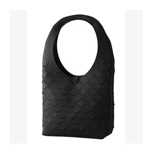 Filcowa torebka, czarna