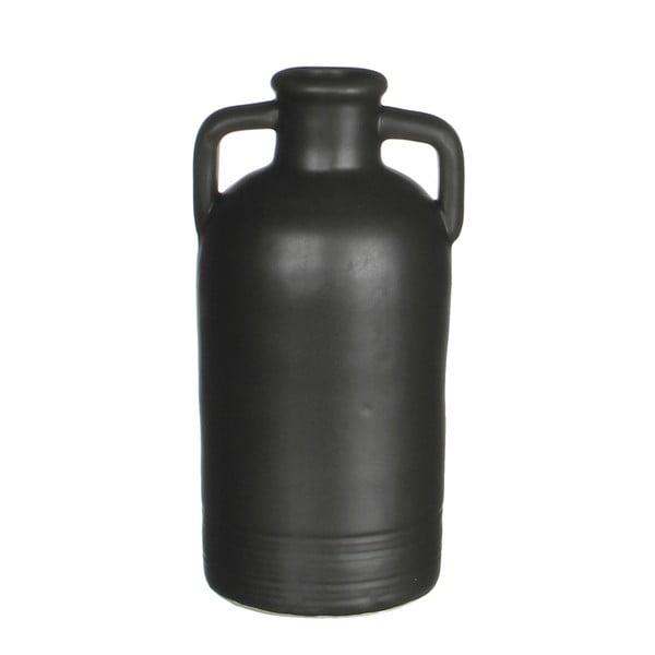 Wazon ceramiczny Sil Black, 11x20 cm