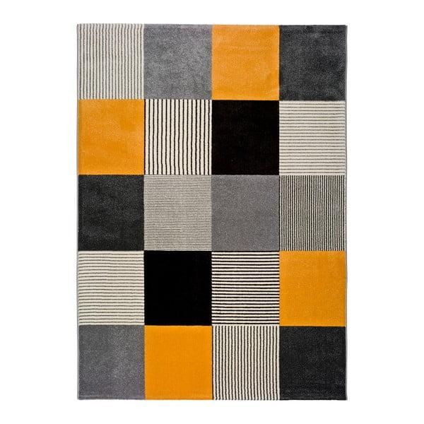 Pomarańczowo-szary dywan Universal Gladys Lento, 160x230 cm