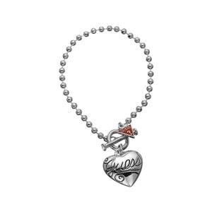 Bransoletka GUESS Sweet Silver Heart