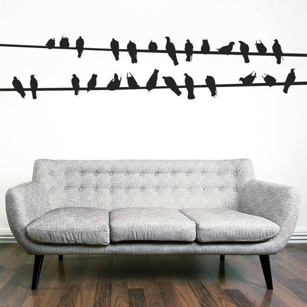 Naklejka na ścianę Ptaki, 90x120 cm