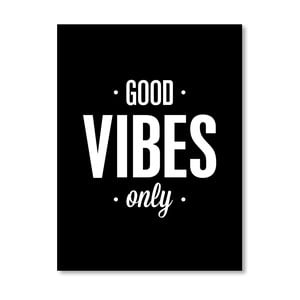 "Plakat ""Good Vibes Only"", 42x60 cm"