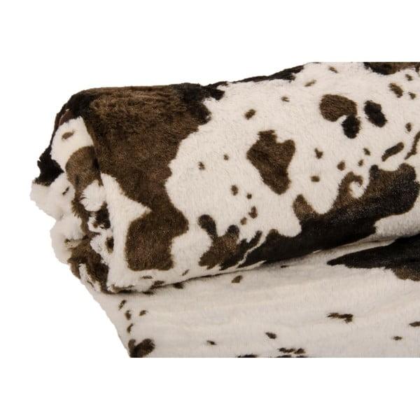 Pled Vache Brun, 130x150 cm
