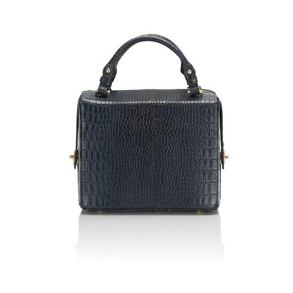 Skórzana torebka Luciano, niebieska