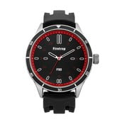 Zegarek męski Firetrap Gents Black Silicon Strap/Brushed Dial, 45 mm