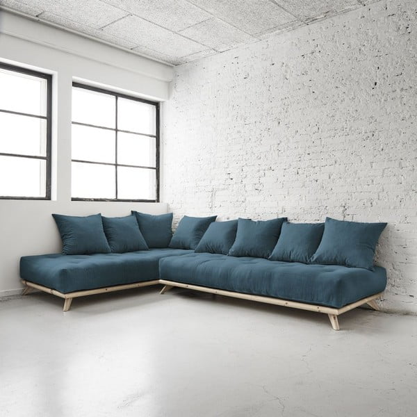 Sofa Senza Natural/Deep Blue