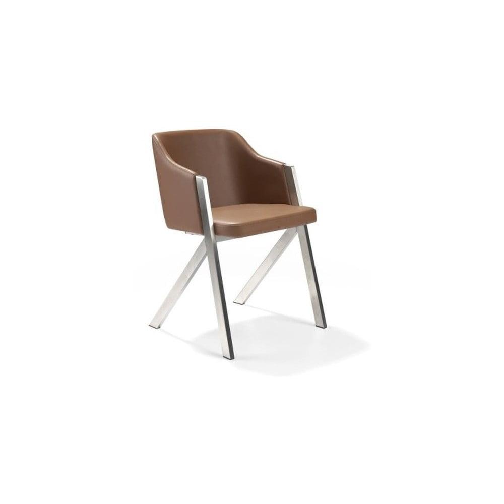 Brązowe krzesło Ángel Cerdá Dining