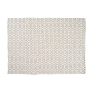 Wełniany dywan Elliot White, 140x200 cm