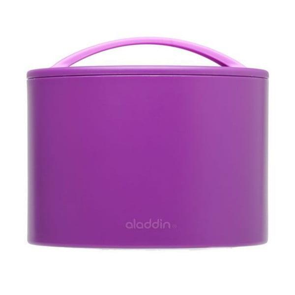 Pojemnik termiczny na żywność Bento 600 ml, fioletowy